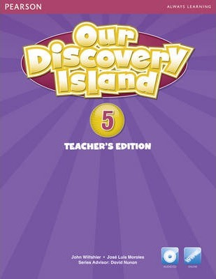 Our Discovery Island American Edition Teachers Book 5 plus pin code for Pack