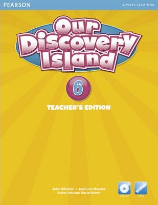 Our Discovery Island American Edition Teachers Book 6 plus pin code for Pack