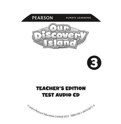 Our Discovery Island American Edition Teacher's Guide Audio CD 4 for Pack