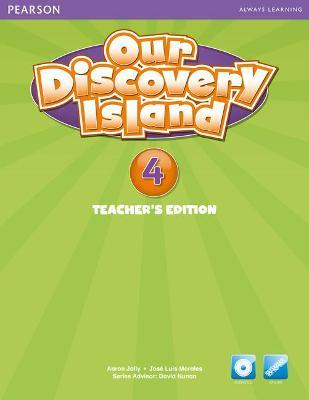 Our Discovery Island American Edition Teachers Book with Audio CD 2 Pack
