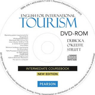 English for International Tourism Intermediate Coursebook DVD-ROM for Pack