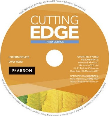 Cutting Edge 3rd Edition Intermediate DVD for pack