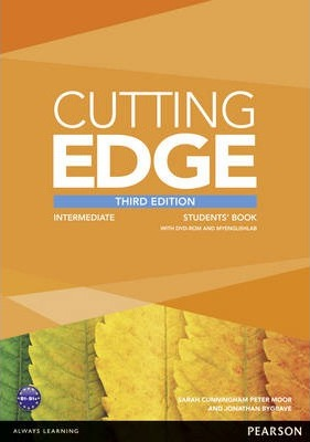 Cutting Edge 3rd Edition Intermediate Students Book for DVD and MyEnglishLab Pack