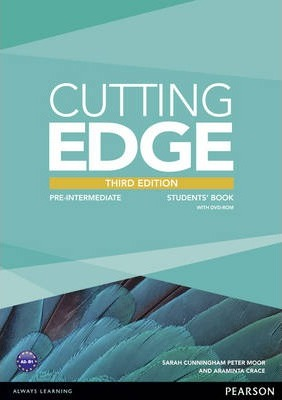 Cutting Edge 3rd Edition Pre-Intermediate Students Book for DVD Pack