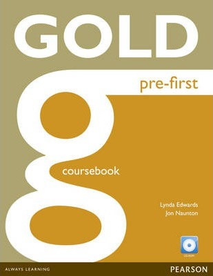 Gold Pre-First Coursebook for CD-ROM Pack