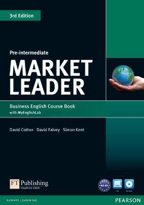 Market Leader 3rd Edition Pre-Intermediate Coursebook with DVD-ROM and MyEnglishLab Student online access code Pack