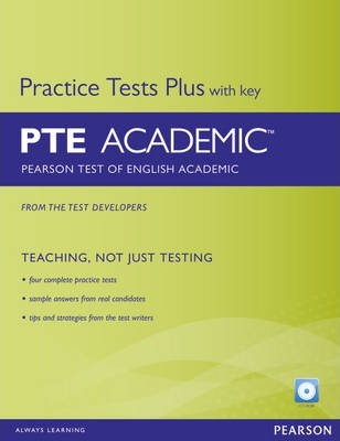 Pearson Test of English Academic Practice Tests Plus with Key for Pack