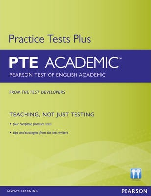 Pearson Test of English Academic Practice Tests Plus without Key for Pack