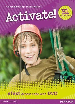 Activate! B1 Students' Book eText Access Card with DVD