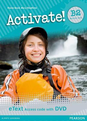 Activate! B2 Students' Book eText Access Card with DVD