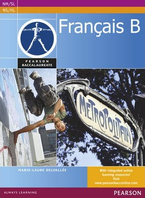 Pearson Baccalaureate Francais B Student Book print and ebook bundle