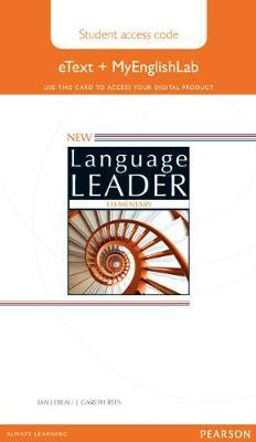 New Language Leader Elementary eText Access Card with MyEnglishLab Pack