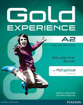 Gold Experience A2 Students' Book with DVD-ROM/MyLab Pack