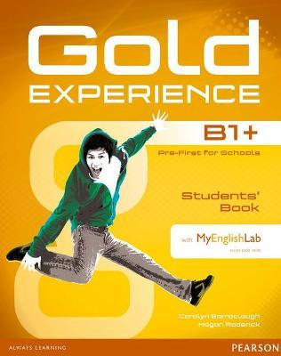 Gold Experience B1+ Students' Book with DVD-ROM and MyLab Pack