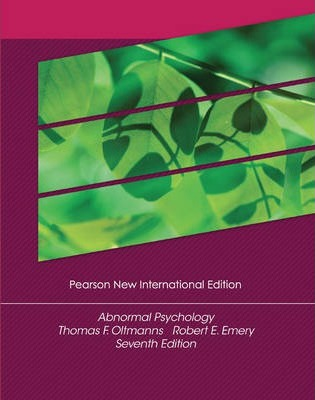 Abnormal Psychology Pearson New International Edition, plus MyPsychLab without eText