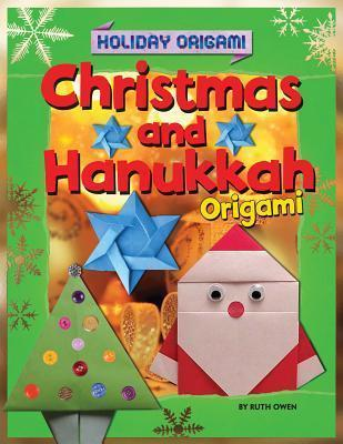 christmas and hanukkah origami ruth owen 9781448878604