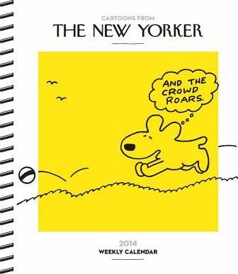 Cartoons From The New Yorker 2014 Desk Diary Conde Nast