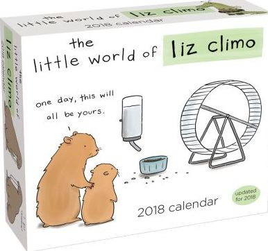 Little World of Liz Climo 2018 Day-to-Day Calendar