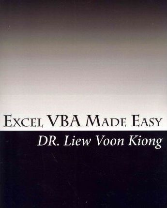 Book easy excel made vba