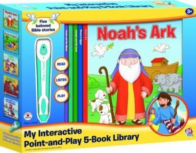 My Point-and-Play and 5-Book Bible Stories Library
