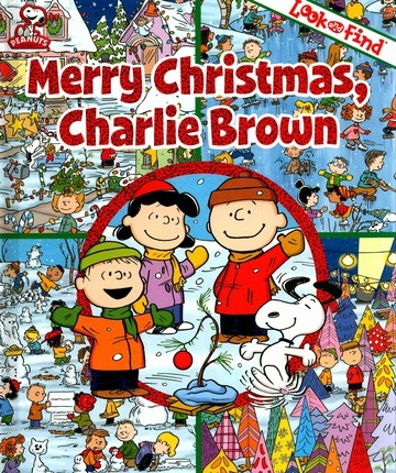 Charlie Brown Christmas Look and Find