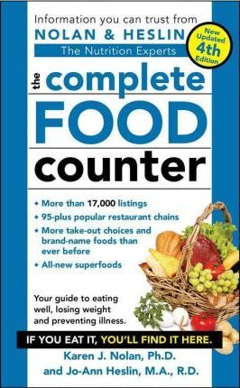 The Complete Food Counter – PH D Karen J Nolan