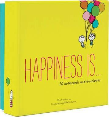 Happiness Is . . . 20 Notecards to Spread the Joy