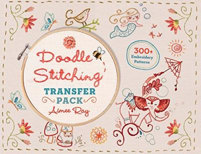 Doodle Stitching Transfer Pack : 300+ Embroidery Patterns