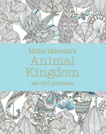 Millie Marotta's Animal Kingdom: Set of 3 Journals