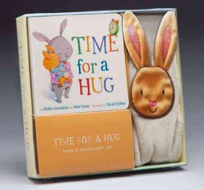Time for a Hug Book & Blankie Gift Set