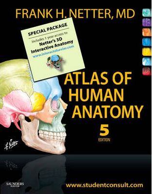 Atlas of Human Anatomy, Student edition and Netter's 3D