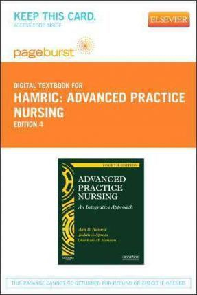 Advanced Practice Nursing - Elsevier eBook on Vitalsource (Retail Access Card)