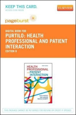 Health Professional and Patient Interaction - Elsevier eBook on Vitalsource (Retail Access Card)