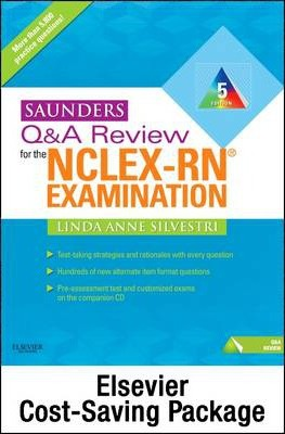 Saunders Q & A Review for the NCLEX-RN? Examination - Pageburst E-Book on Vitalsource + Evolve Access (Retail Access Cards)