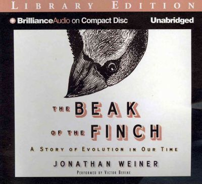 the beak of the finch a story of evolution in our time