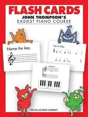 John Thompson's Easiest Piano Course : Flash Cards