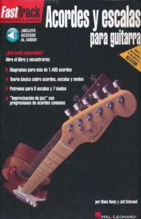 FastTrack Guitar Chords & Scales (Spanish) : Jeff Schroedl ...