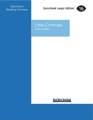 Little Criminals  The Story of a New Zealand Boys' Home