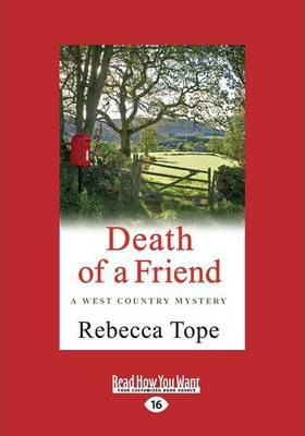 Death of a Friend  West Country Mysteries 3