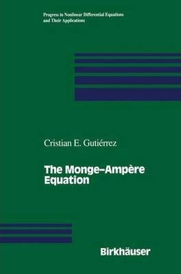 The Monge-Ampere Equation