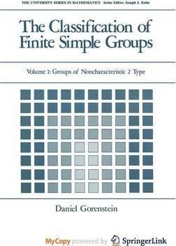 The Classification of Finite Simple Groups