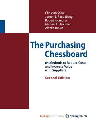 The Purchasing Chessboard