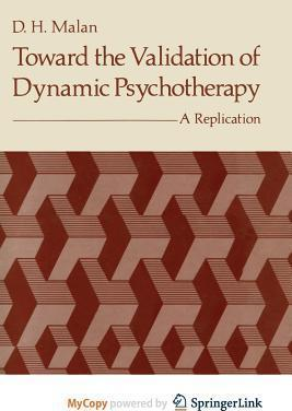 Toward the Validation of Dynamic Psychotherapy