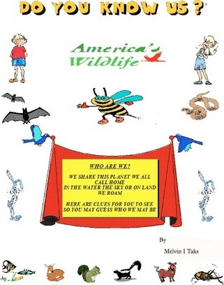 Do You Know Us?  Guess Who Rhymes about North American Animals