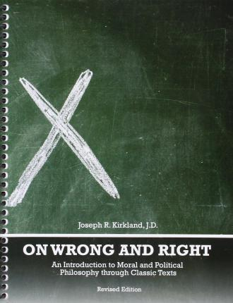 what is right and wrong philosophy