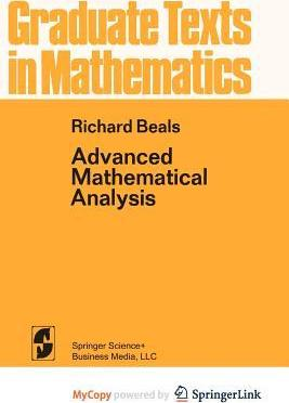 Advanced Mathematical Analysis