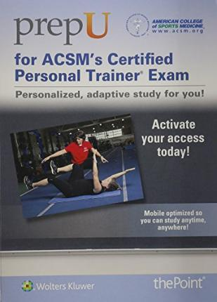 ACSM\'s Resources for the Personal Trainer Powered by PrepU ...