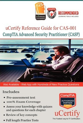 Ucertify Reference Guide for Comptia Advance Security Professional (Casp): Comptia Advance Security Professional (Casp)