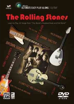 Ultimate Easy Guitar Play-Along -- The Rolling Stones : The