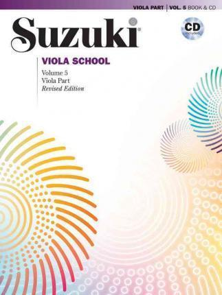 Suzuki Viola School, Vol 5 : Viola Part, Book & CD